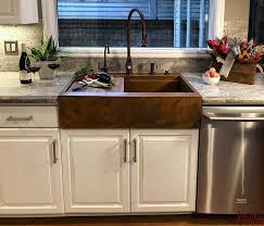 drop in farmhouse sink copper farmhouse sinks hand crafted and custom made in the usa