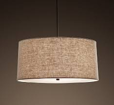 the dining table 5 drum shade pendant lights for a soft