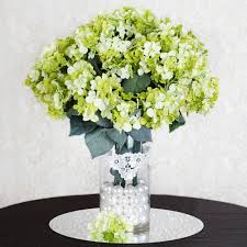 silk hydrangea 56 silk hydrangea flowers wedding party home bouquets centerpieces