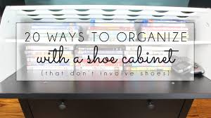 Baxton Studio Glidden Shoe Cabinet by Organizing With Style 20 Ways To Organize With An Ikea Shoe