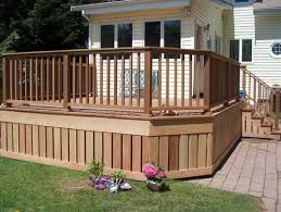 Deck Patio Design Pictures by Best 25 Wood Deck Designs Ideas On Pinterest Patio Deck Designs