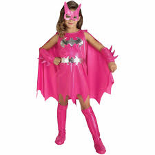Halloween Costume Girls Pink Batgirl Child Halloween Costume Walmart