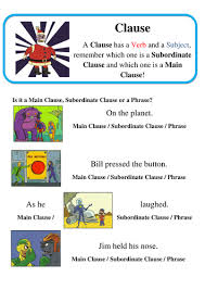 subordinate clauses by dontcallmelewi teaching resources tes