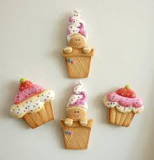 cold porcelain recipe attached gingerbreads buttons or