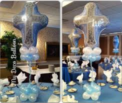 Centerpieces For Baptism Balloon Decorations Balloon Decorations In New Jersey Balloon