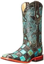 ferrini s boots size 11 amazon com ferrini s patchwork bt boot mid calf