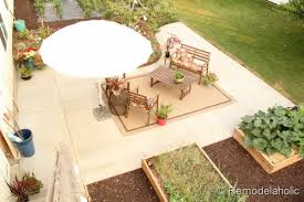 How To Build A Cement Patio How To Install A Diy Concrete Patio