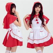 Fairytale Halloween Favorites Red Riding Hood Costume Beautiful Fairy Tale Japanese Maid