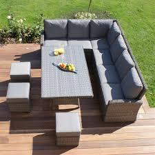 Rattan Garden Furniture 8 Seater Rattan Garden Furniture Home Design And Decor