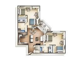4 Bedroom Apt For Rent 1 2 3 U0026 4 Bedroom Apartments For Rent At Blvd63