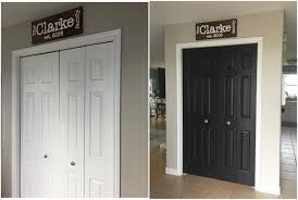 Paint Closet Doors Painting Closet Doors Black S Handmade