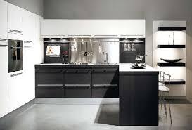 Kitchen Design Black And White Black And White Kitchen Designs Interior House Plan