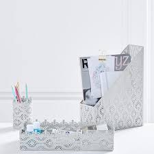 matching desk accessory set cool cute desk accessories pbteen