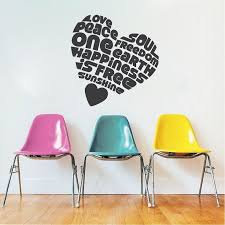 Heart Wall Stickers For Bedrooms 1739 Best Cool Wall Decals Images On Pinterest Wall Design