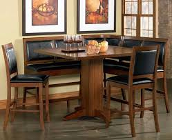 Corner Dining Chairs Counter Height Corner Breakfast Nook Chicago Dining Room Place