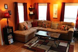 Curtain Color For Orange Walls Inspiration What Color Curtains Go With Orange Walls Gopelling Net