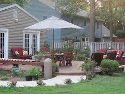 Deck Landscaping Ideas Triyae Com U003d Large Backyard Deck Ideas Various Design