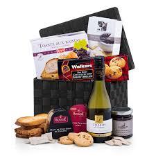 luxury gift baskets foie gras toast wine luxury gift basket