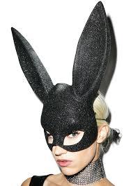 bunny mask glitter bunny mask dolls kill