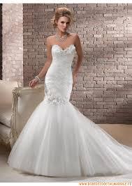 robe blanche mariage robe de mariage blanche sirène 2013 fleurs tulle