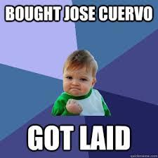 Jose Cuervo Meme - bought jose cuervo got laid success kid quickmeme