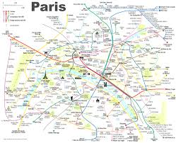 map of the underground in metro map with tourist attractions beautiful