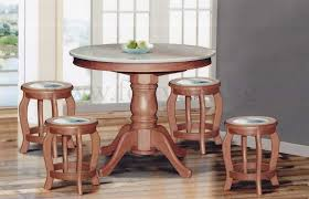 round marble kitchen table dn888 round marble dining table 4ft 6 stools marble seat top