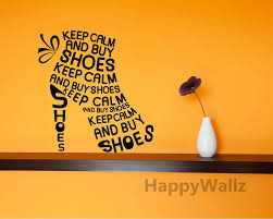 keep calm motivational quote wall sticker diy keep calm buy shoes