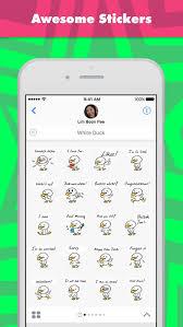 Stick Figure Memes Stickers By Johnnymcdonald1 By Mojilala - app shopper white duck stickers