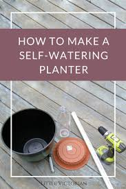 easy diy how to make self watering planters