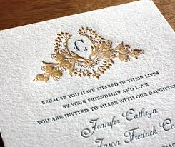 can i order wedding invitations in a small quantity letterpress