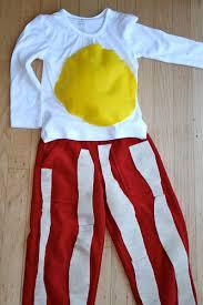 Halloween Bacon Costume Crafty U2013 Project U2013 Minute Bacon Egg Costume