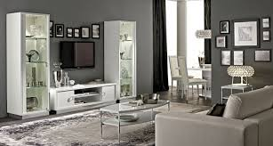 White Gloss Living Room Furniture Uk White High Gloss Dining Furniture And Sets Em Italia