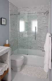 tub and shower combo the shower enclosure is by dreamline http