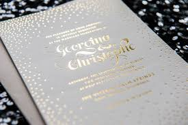 foil sted wedding invitations stella foil wedding invitation foiled invitations