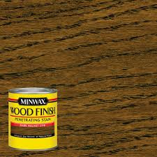 minwax 1 qt wood finish dark walnut oil based interior stain