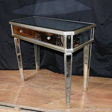 Entrance Tables And Mirrors Mirrored Console Table With Drawers Best Table Decoration