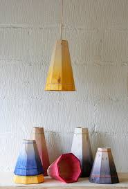 Yellow Pendant Lights Yellow Pendant Lamp Shade Handmade In Recycled Pallet Wood Small