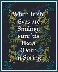 St Patrick S Day Home Decorations Irish Folklore Decor Irish Blessing Irish Home Decor Irish Eyes