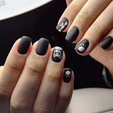 black nails awesome black finger nails to you look summer