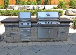 cute outdoor kitchen built and bbq outdoor bbq ideas for outdoor
