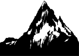 mountain silhouette free vector silhouettes