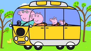 party bus clipart peppa pig bus coloring pages peppa car coloring book свинка