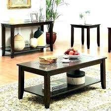 set of three end tables 4 piece coffee table set sofa and end tables antique kitchen faucets