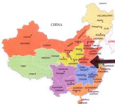 Harbin China Map by Henan And Its Foods