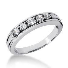 womens diamond wedding bands 18k gold women s diamond wedding band 0 50ct gold womens