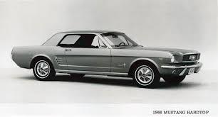 1966 Ford Mustang Black Mustang