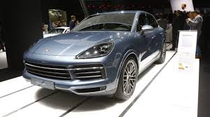 porsche suv turbo 2018 porsche cayenne turbo official images motor1 com photos