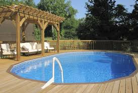 nice above ground pools pool traditional with backyard deck