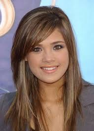 2015 hair styles of long hairstyles with bangs